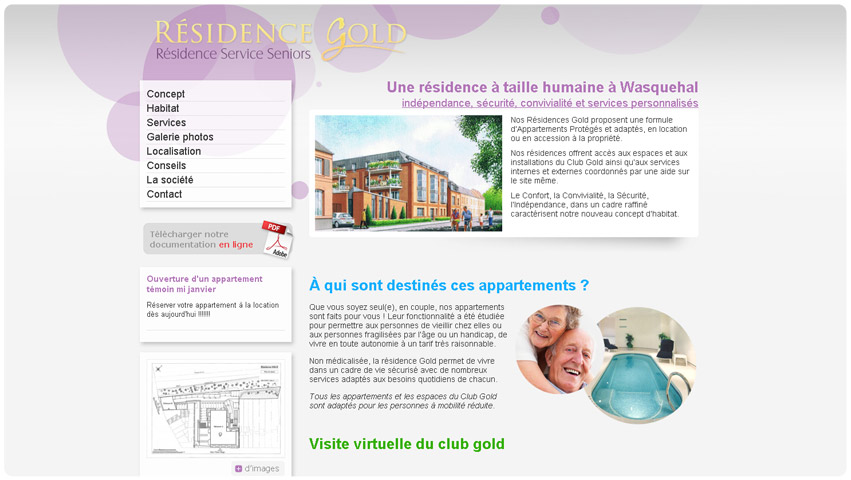 residence gold lille
